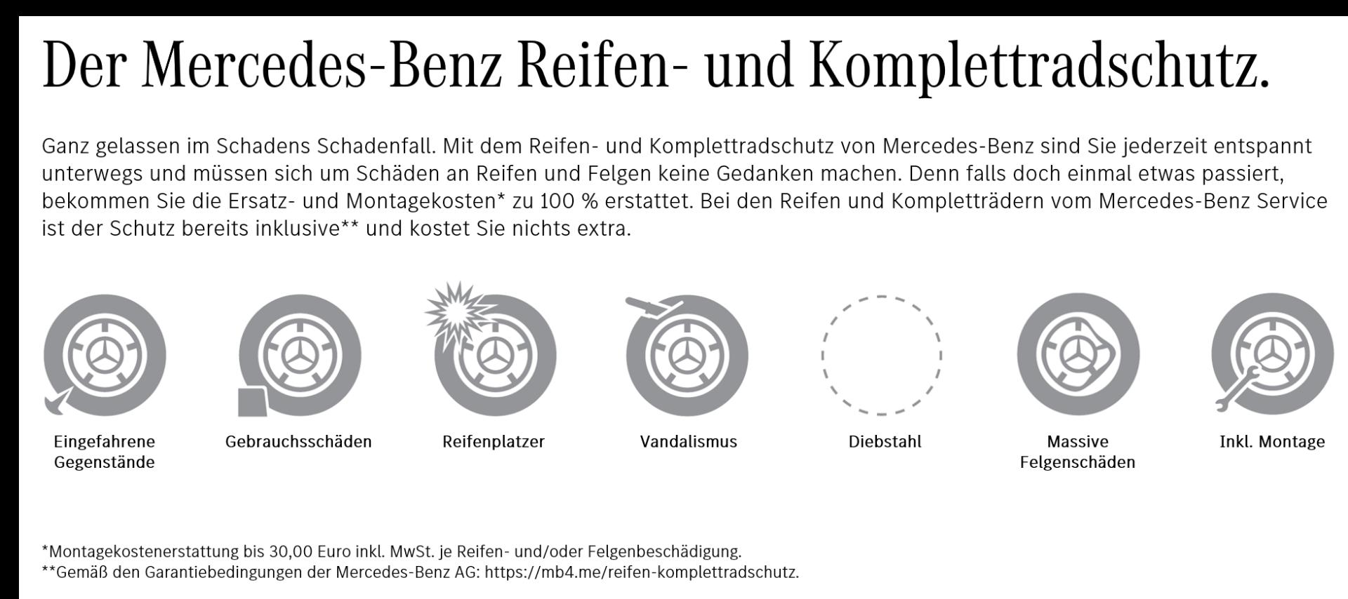 HIRSCHVOGEL Autoteile Mercedes-Benz Reifen- und Komplettradschutz