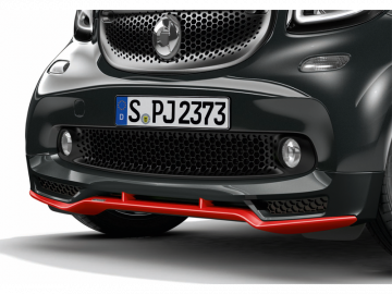 A4538809701smart 453 BRABUS fortwo for two Frontspoiler