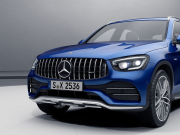 Mercedes-Benz Panamericanagrill Panamericana Grill Kühlerverkleidung Kühlergrill GLC Coupe AMG 253
