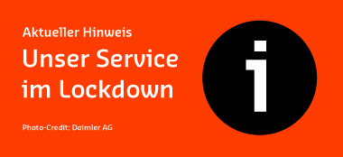 Service im Lockdown
