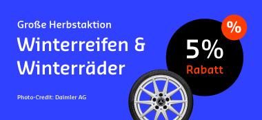Herbstaktion Reifen & Räder