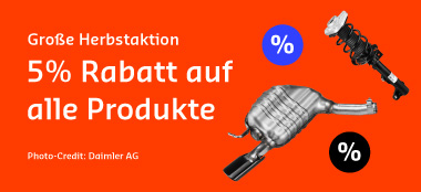 5% auf alle Produkte