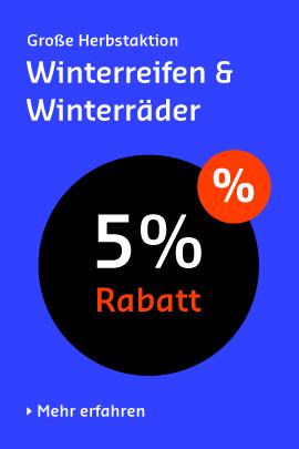 5% auf alle Reifen & Räder